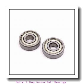 MRC 106KS Radial & Deep Groove Ball Bearings