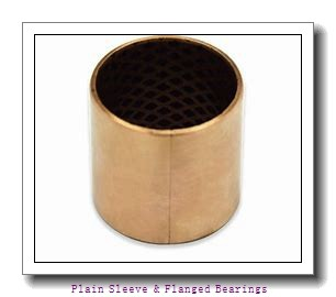 Bunting Bearings, LLC EP020308 Plain Sleeve & Flanged Bearings