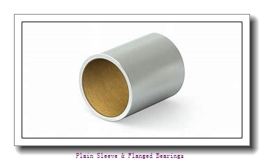Bunting Bearings, LLC AA121301 Plain Sleeve & Flanged Bearings