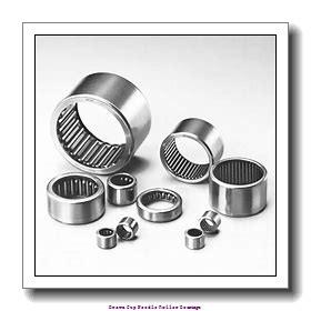 0.5625 in x 0.8125 in x 0.5000 in  Koyo NRB BH 98 Drawn Cup Needle Roller Bearings