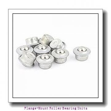 1-15/16 in x 5.0000 in x 8.5000 in  Cooper 01EBCF115GR Flange-Mount Roller Bearing Units
