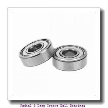 MRC R6F Radial & Deep Groove Ball Bearings