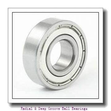 MRC R3FFST Radial & Deep Groove Ball Bearings