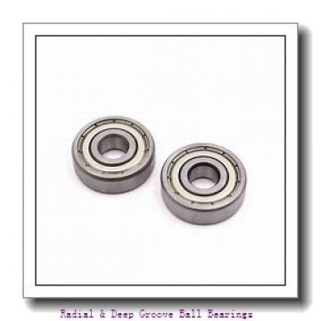 5.000 mm x 19.0000 mm x 6.00 mm  MRC 35ZZ Radial & Deep Groove Ball Bearings