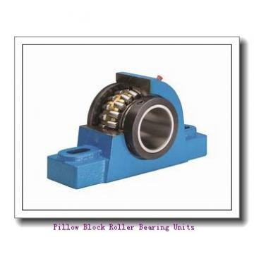 1.438 Inch | 36.525 Millimeter x 3.563 Inch | 90.5 Millimeter x 1.875 Inch | 47.63 Millimeter  Rexnord ZA5107 Pillow Block Roller Bearing Units