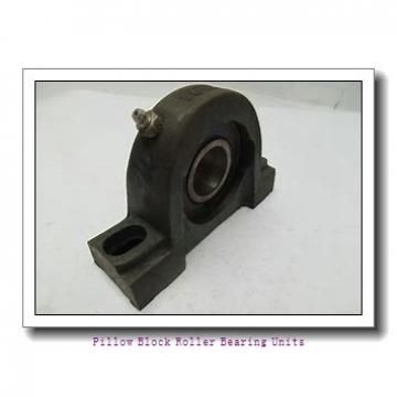 6.4375 in x 20-7/8 to 23-5/8 in x 8-3/4 in  Rexnord MAFS5607F Pillow Block Roller Bearing Units