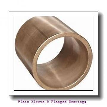 Bunting Bearings, LLC EF060912 Plain Sleeve & Flanged Bearings