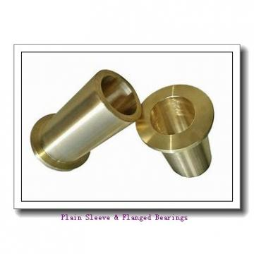 Bunting Bearings, LLC EP081118 Plain Sleeve & Flanged Bearings