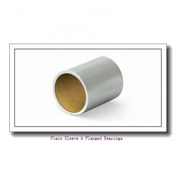 Bunting Bearings, LLC EF030506 Plain Sleeve & Flanged Bearings