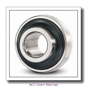 15,875 mm x 40 mm x 19,05 mm  Timken GRA010RRB Ball Insert Bearings