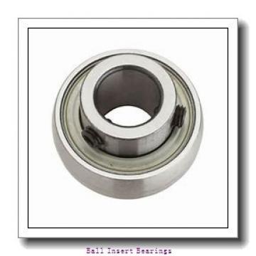 55,5625 mm x 100 mm x 55,55 mm  Timken GY1203KRRB Ball Insert Bearings