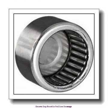 1/4 in x 7/16 in x 1/2 in  Koyo NRB RC-040708;PDL092 Drawn Cup Needle Roller Bearings