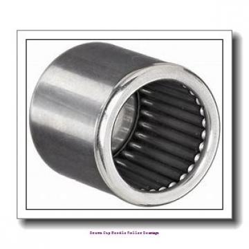 2-1/8 in x 2-1/2 in x 1/4 in  Koyo NRB GB-34 Drawn Cup Needle Roller Bearings