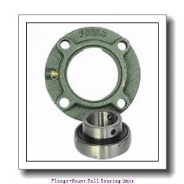 3.0000 in x 6.0000 in x 7.7500 in  Martin Sprocket & Gear TEB6BB Flange-Mount Ball Bearing Units