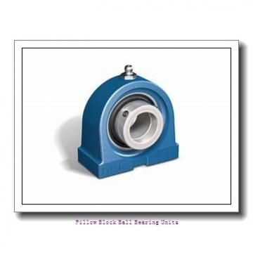 1.438 Inch | 36.525 Millimeter x 1.688 Inch | 42.87 Millimeter x 1.875 Inch | 47.63 Millimeter  Sealmaster NP-23 Pillow Block Ball Bearing Units