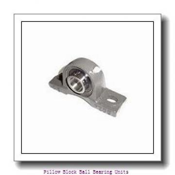 2.4375 in x 7.5000  to 8.5000 in x 2.7500 in  SKF SYM 2.7/16 TF/W64 Pillow Block Ball Bearing Units