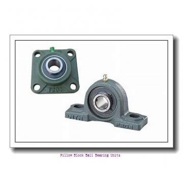 1.188 Inch | 30.175 Millimeter x 1.5 Inch | 38.1 Millimeter x 1.688 Inch | 42.875 Millimeter  Sealmaster NP-19 Pillow Block Ball Bearing Units